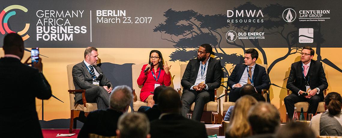 ABC auf dem ersten Deutschland-Afrika-Wirtschaftsforum (GAFB) in Berlin ©offenblen.de
