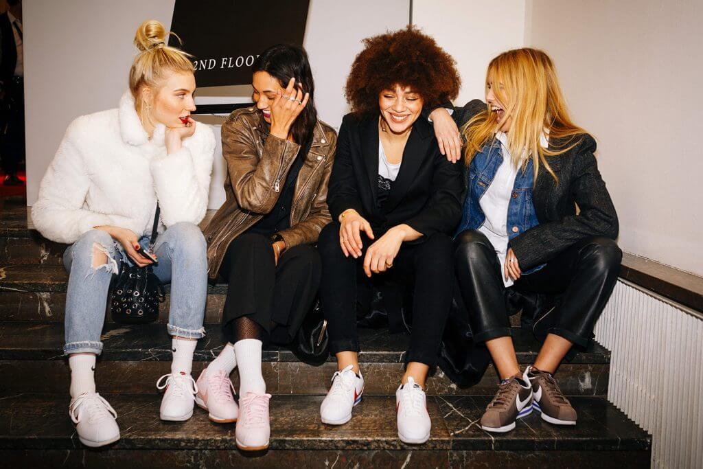 Nike Cortez auf Berlin Fashion Week © offenblen.de