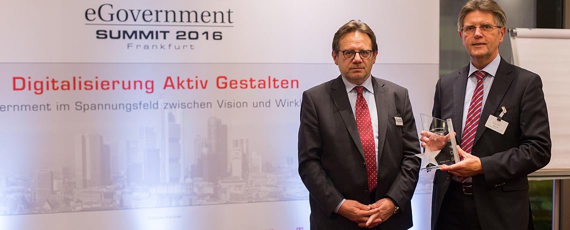 eGovernment Award 2016 in Frankfurt © offenblen.de
