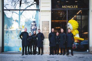 Barracuda Barcatering @ Moncler in Prag © offenblende.de