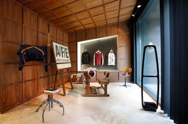 Locationfotograf Berlin - im Auftrag für Nike bei Firmament Store