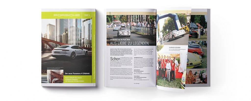 24 Runden von Du Pont im LIVE Porsche Kundenmagazin ©offenblen.de