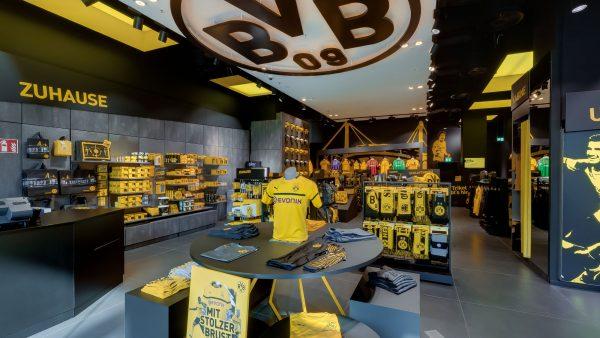 360 Grad Rundgang für den BVB Fanshop