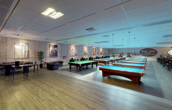 3D Rundgang vom Ricks Club | Bowling-Center und Billard - Fotograf: Stefan