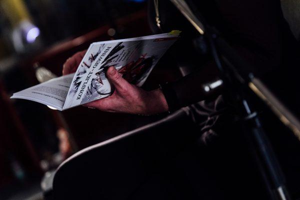 Claudia Riege @ Buchpremiere von Konflikt-Gewinn © offenblen.de