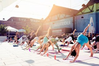 Dopper x Yoga @ Haubentaucher © offenblende.de