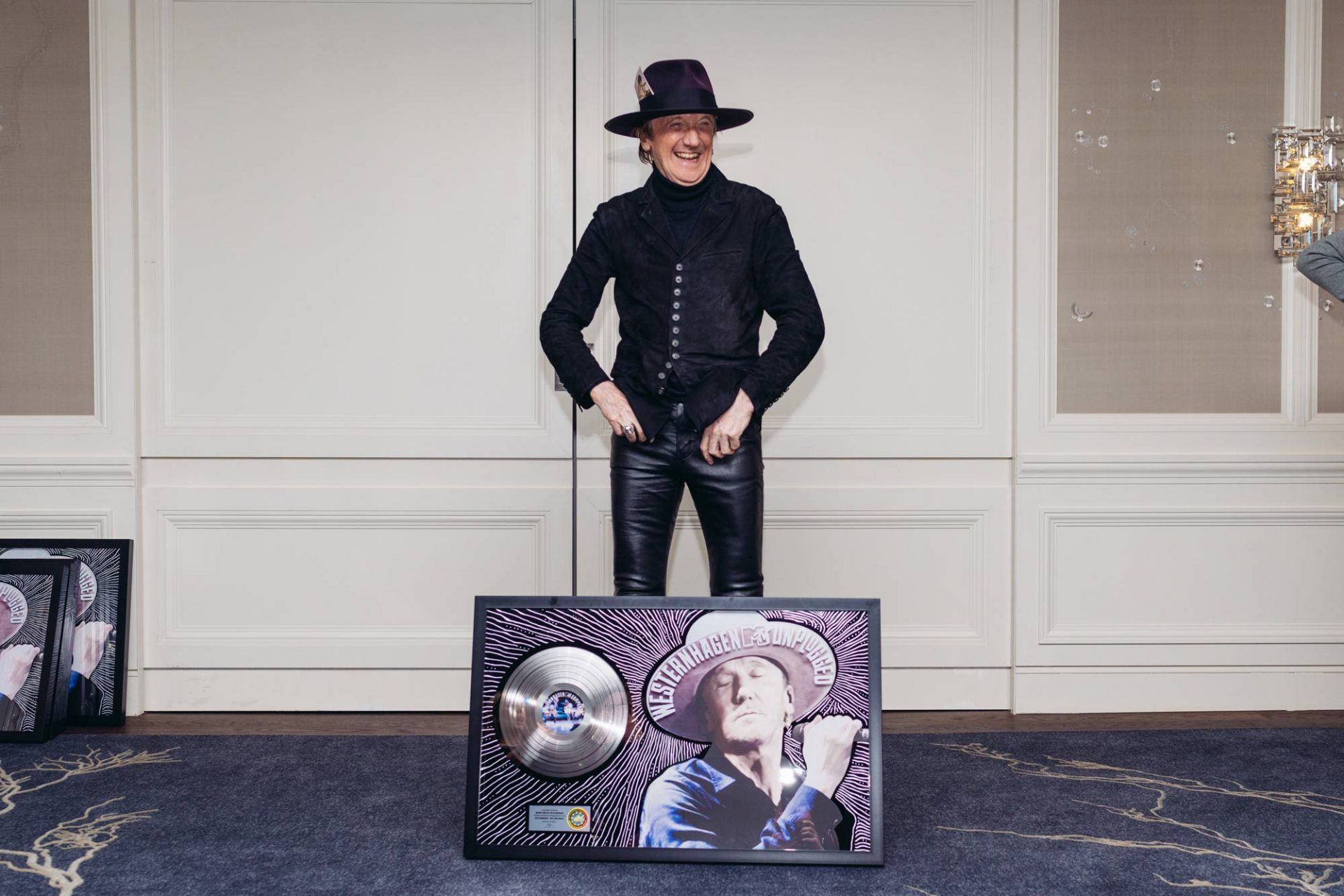 Westernhagen - MTV-Unplugged Award ©offenblende.de