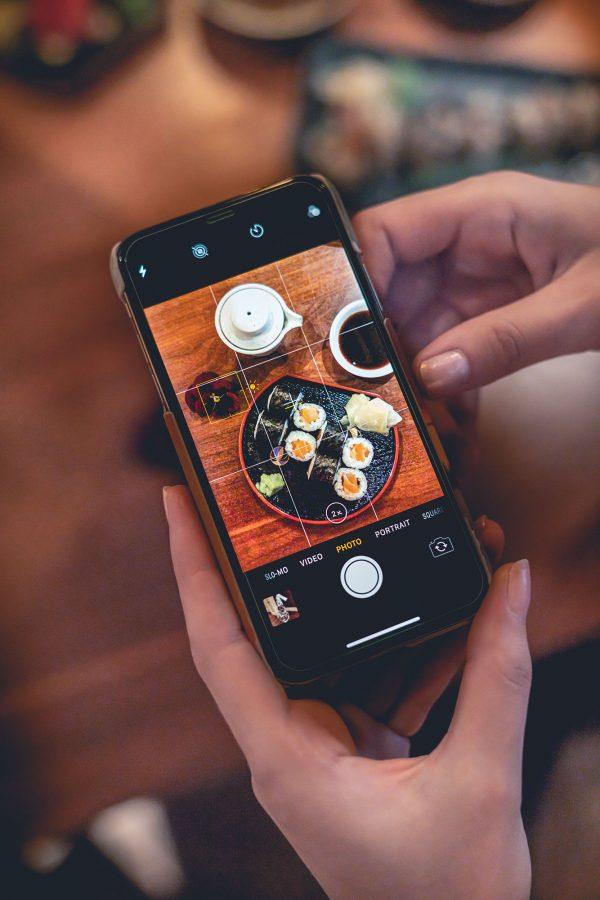 Foodfotografie: Instagramposting © Offenblende / Devaki DEJO