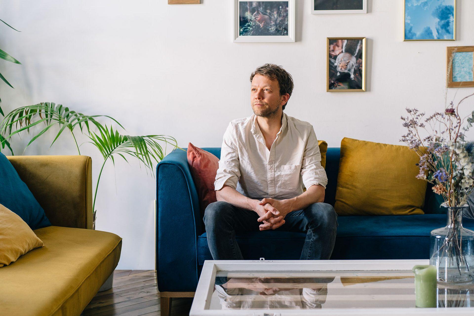 Portrait Michael Bohmeyer, Gründer Mein Grundeinkommen © Fabian / Offenblende (Portraitfotograf in Hamburg)