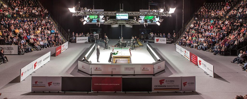 Snooker German Master im Tempodrom Berlin