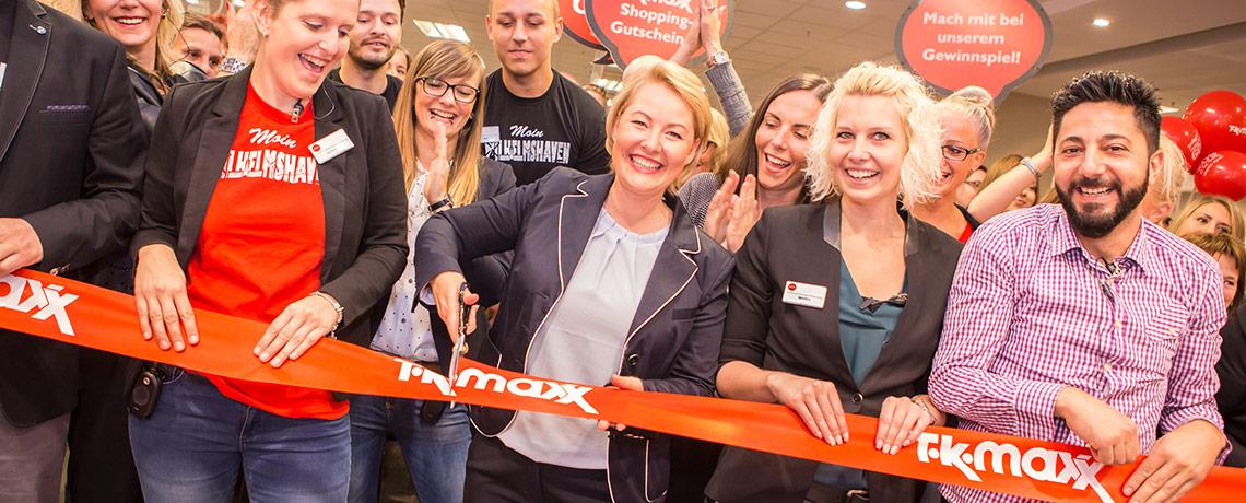 Eröffnung des neuen TK Maxx Stores in Würzburg
