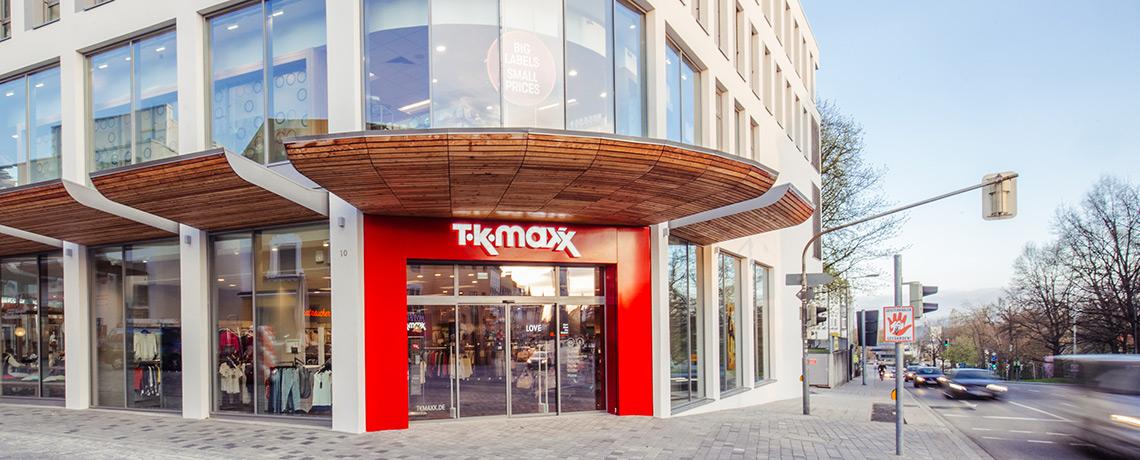 TK Maxx Neueröffnung in Straubing