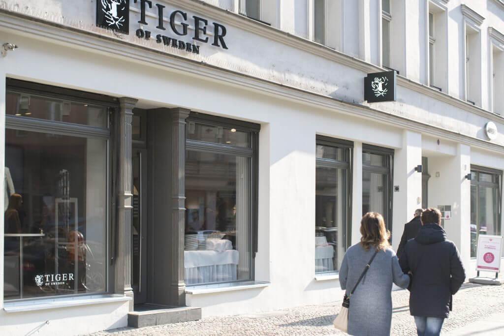 tiger of sweden store opening in berlin mitte. Black Bedroom Furniture Sets. Home Design Ideas