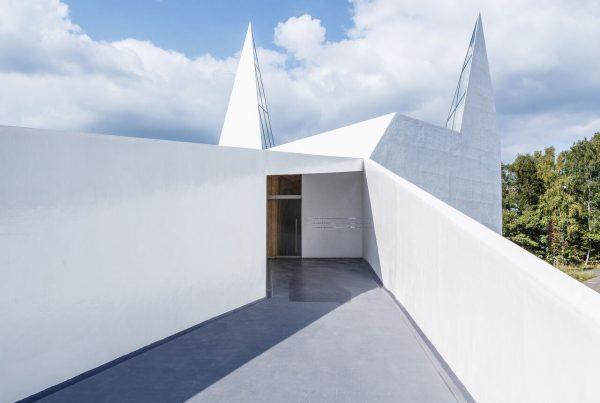Architekturfotografie Kirche Wilnsdorf