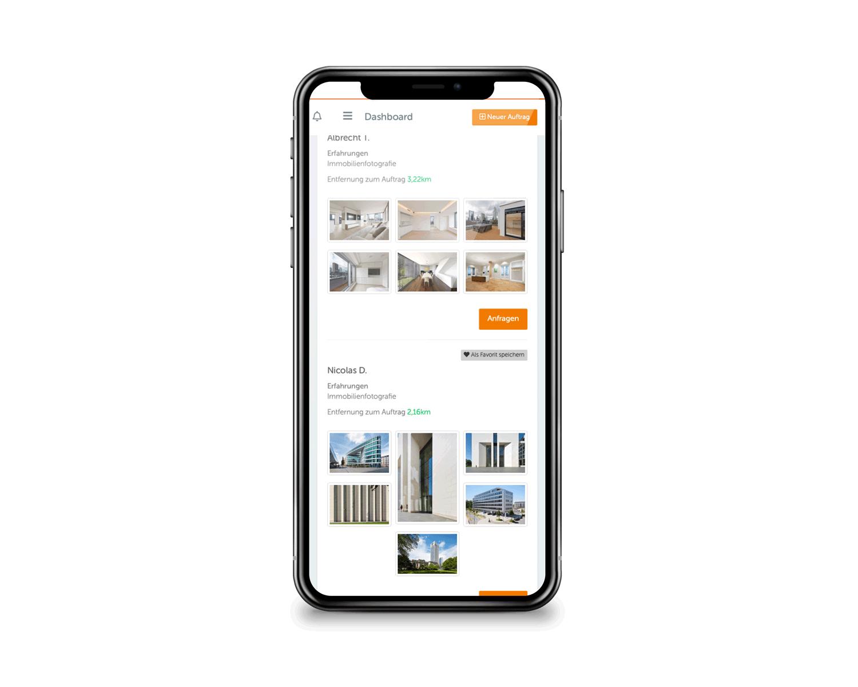 Immobilienfotografen buchen mit praktischer Online-Auswahl