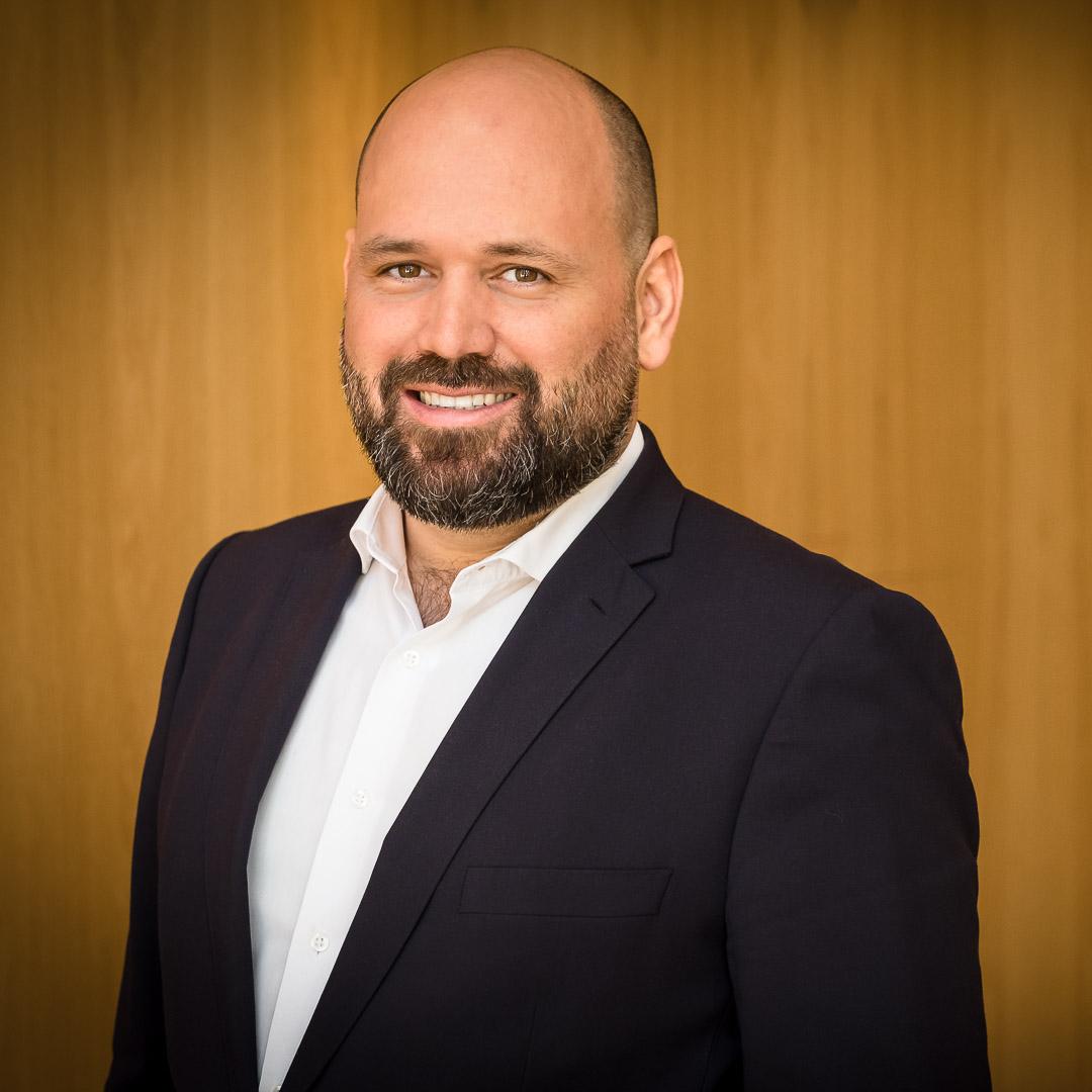 Business Portrait Fotografie in Frankfurt: Dirk B.