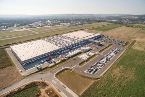 Drohnenfotografie für ein Logistikunternehmen