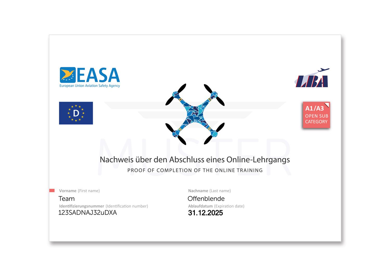 Drohnenführerschein 2021