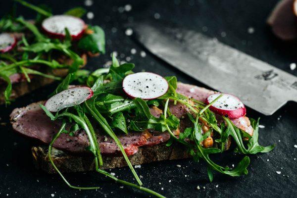 Food Fotografie Vorspeisen / Brot