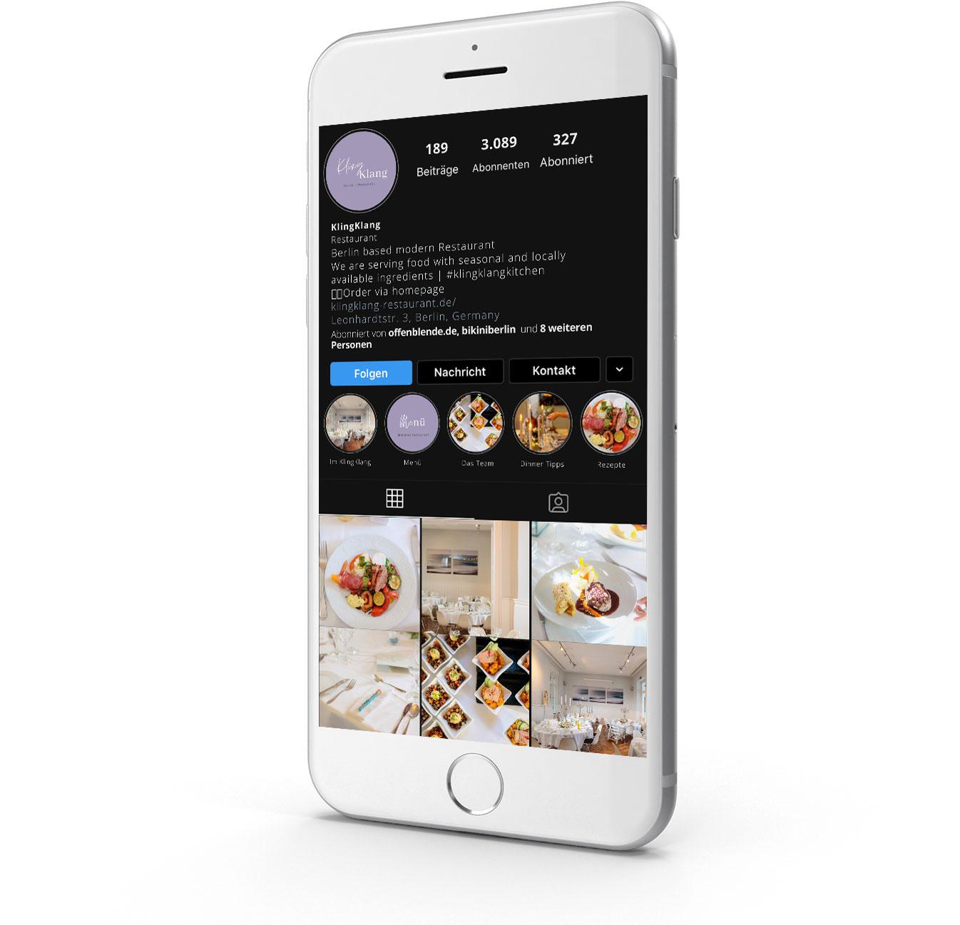 Food Fotograf für Social Media
