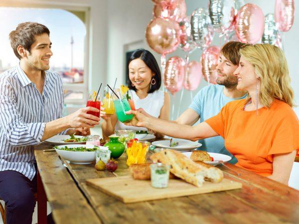 Fotoshooting für Werbefotos von Cocktails © Offenblende / Daniel DL