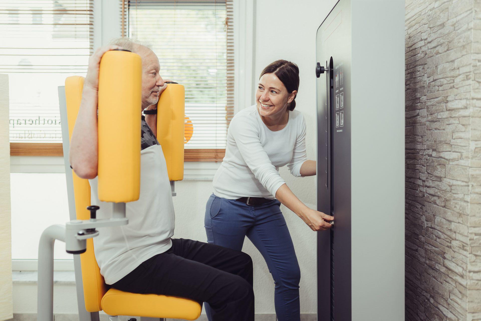 Fotos für eine Physiotherapiepraxis ©Offenblende / Joshua JAH