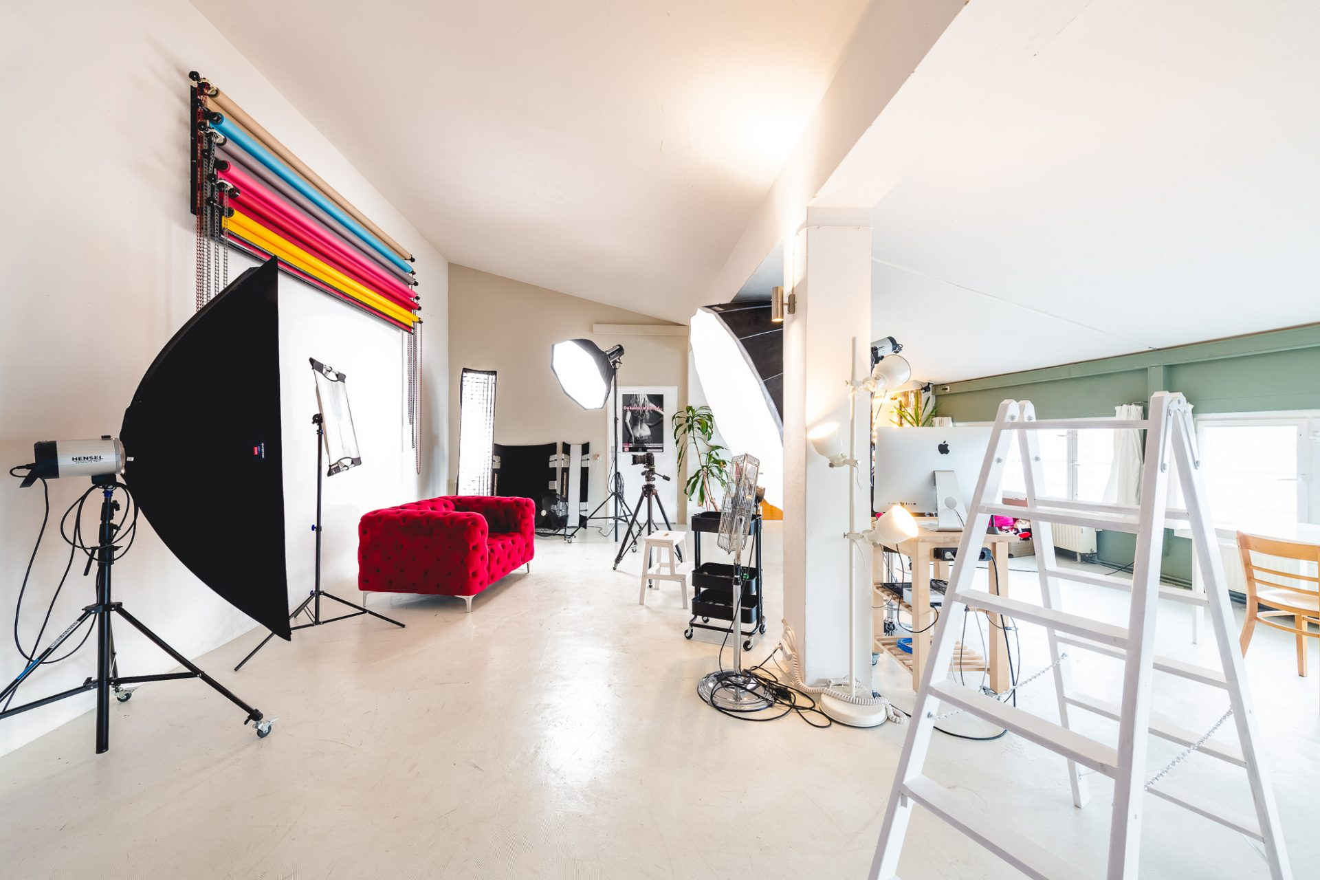 Fotostudio in Dresden für Beauty, Fashion und Portraits ©Offenblende / Toni TKR