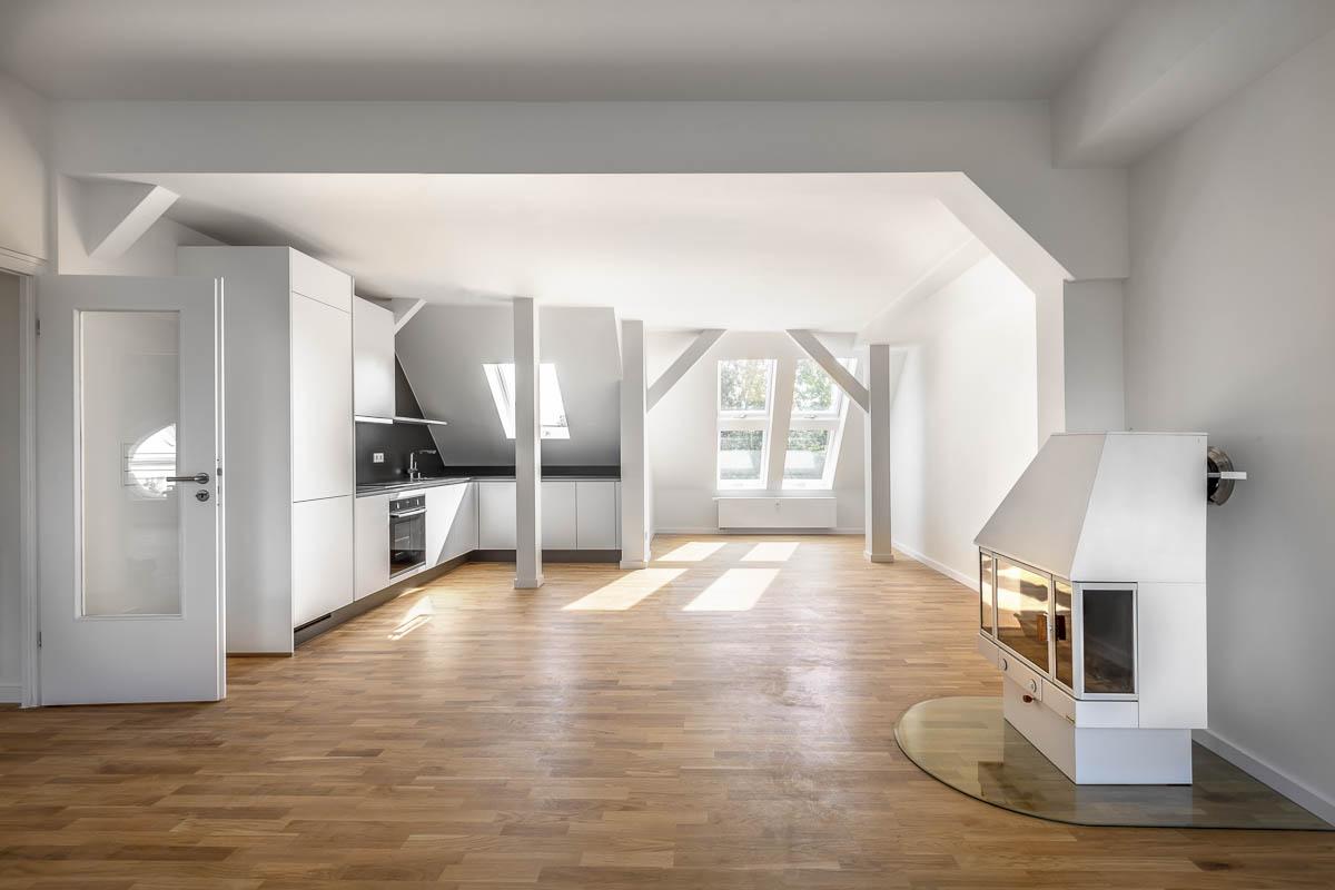 Immobilienfotografie von Einfamilienhäusern