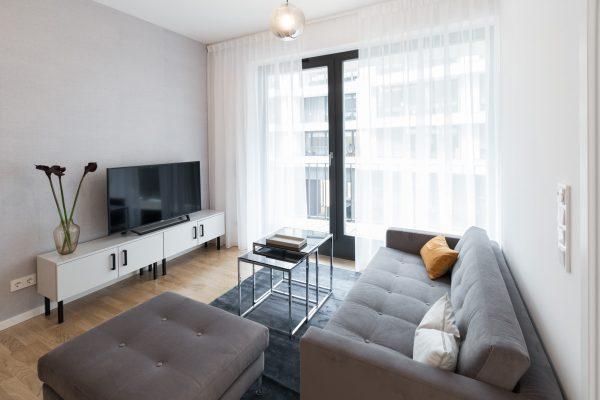Immobilienfotografie Wohnzimmer ©offenblende.de
