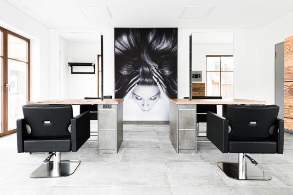 Interieurfotograf Frisörsalon  Friseur&Barbier Azra in München - Fotografin: Dorothe