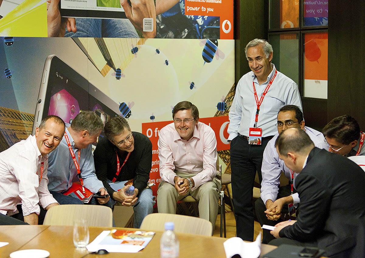 Konferenzfotograf für Vodafone