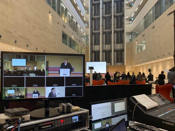 Videoproduktion: Live Streaming einer Konferenz für Rudolf Augstein Stiftung
