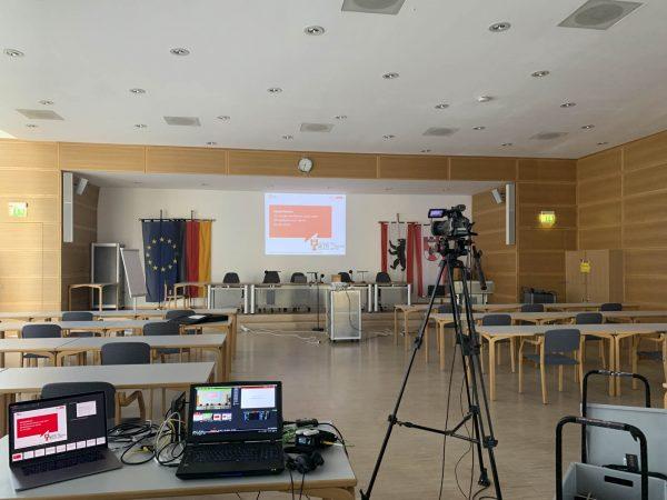 Live-Stream Videoproduktion für das Bezirksamt Berlin-Mitte