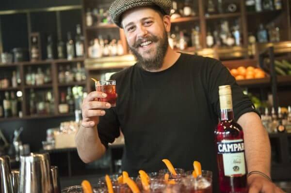 Veranstaltungsfotograf München für Campari Negroni Nights in der Herzog Bar