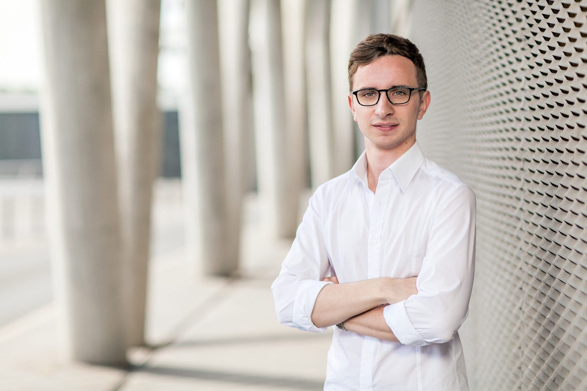 Portraitfotograf für Businessportraits in Frankfurt ©Offenblende / Nikita