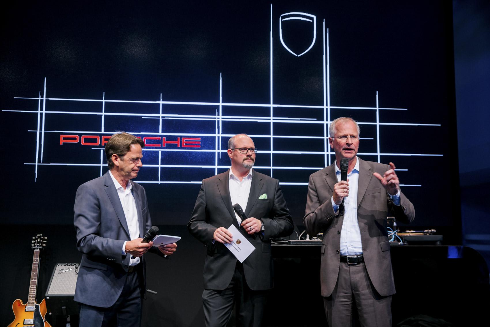 Referenzen Eventfotografie: Fahrzeugpremiere bei Porsche