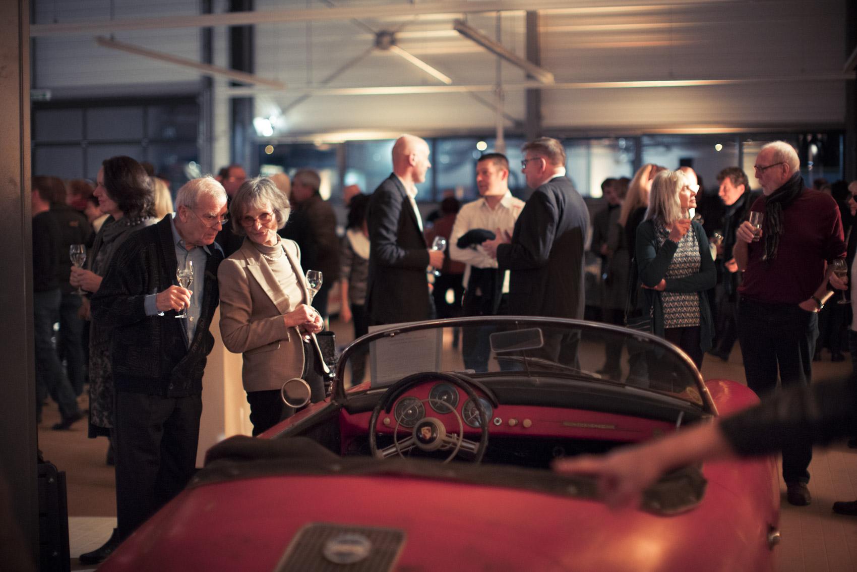 Referenzen Eventfotografie: Kundenveranstaltung bei Porsche