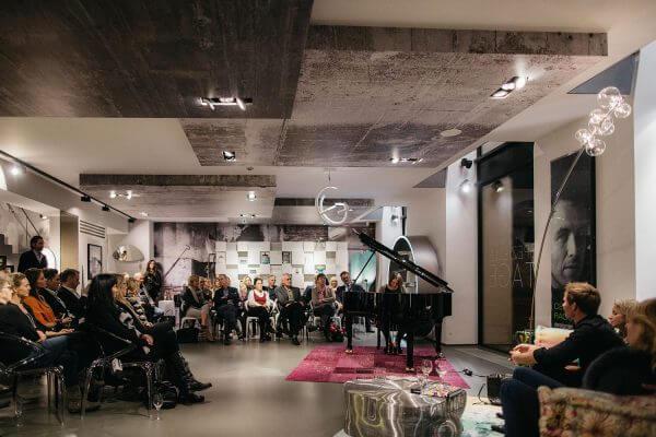 Eventfotograf München für Roche Bobois im Showroom