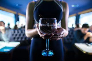 Bombay Sapphire Drinks Lavastroke - TheGrand Journey Hamburg 2017