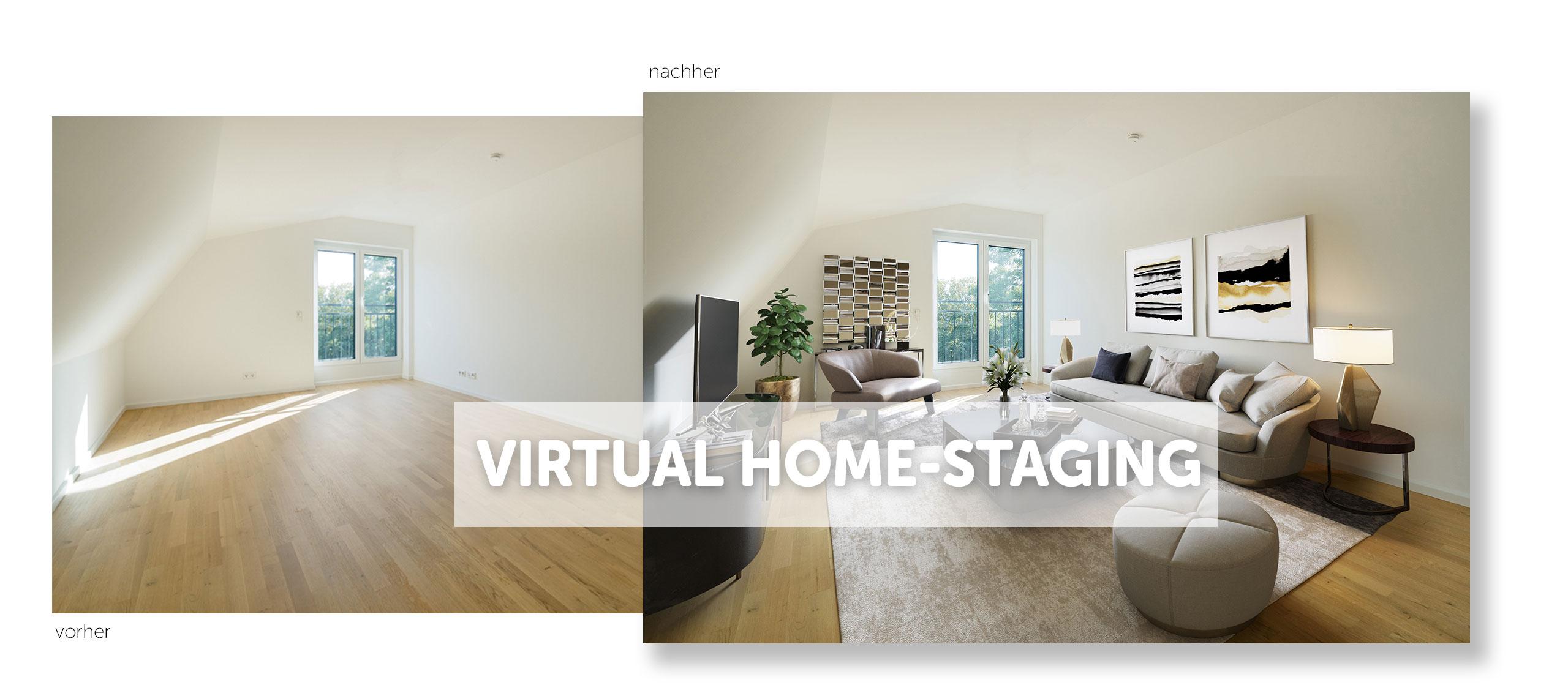 Virtual Home-Staging Frankfurt