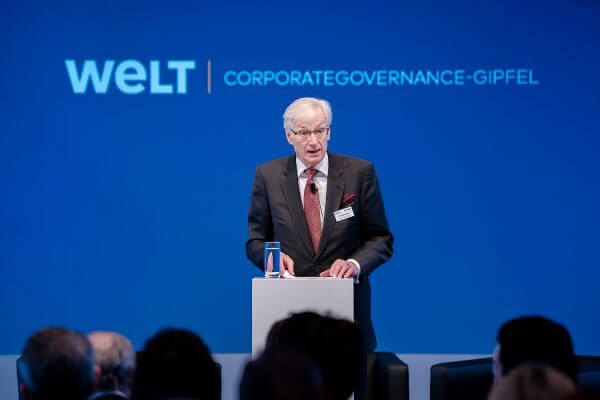 Welt Corporate Governance Gipfel Manfred Gentz © offenblen.de