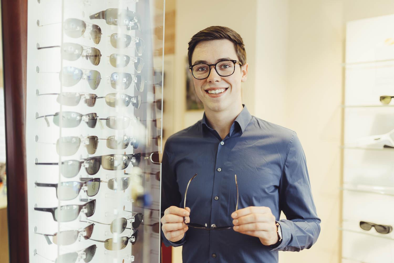 Fotograf für Optiker-Fachgeschäfte, Werbung, Corporate und Unternehmensfotografie © Offenblende / Joshua JAH