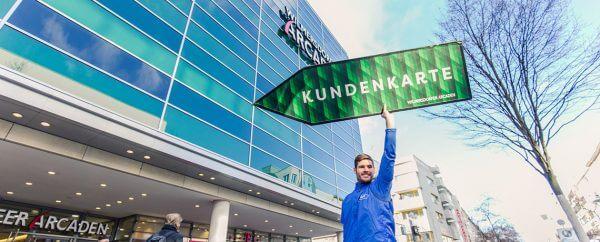 Wilmersdorfer Arcaden - Einführung Kundenkarten ©offenblen.de